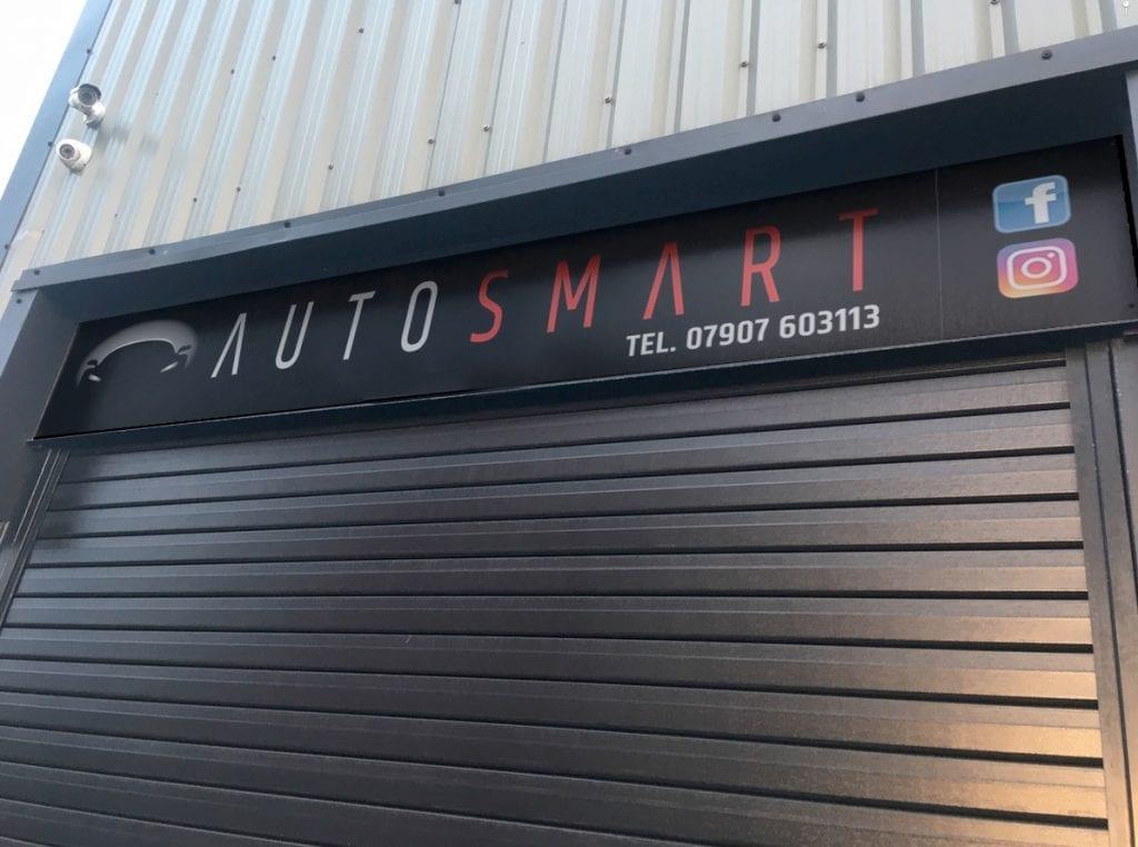 AutoSmart Shop Sign