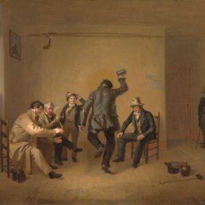 Bar-room Scene - William Sidney Mount