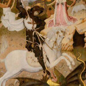 Saint George and the Dragon - Bernat Martorell