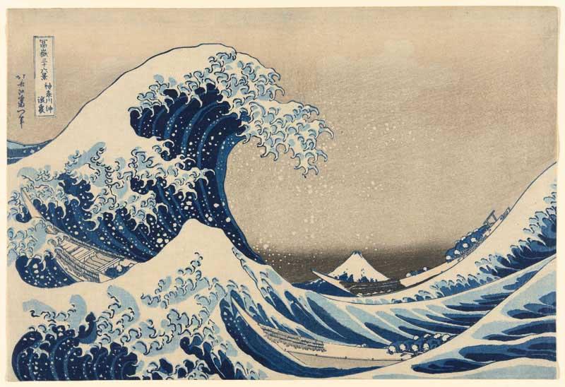 The Great Wave - Katsushika Hokusai