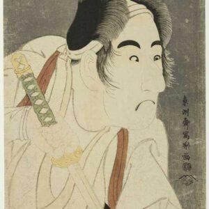 The actor Bando Mitsugoro II as Ishii Genzo - Toshusai Sharaku