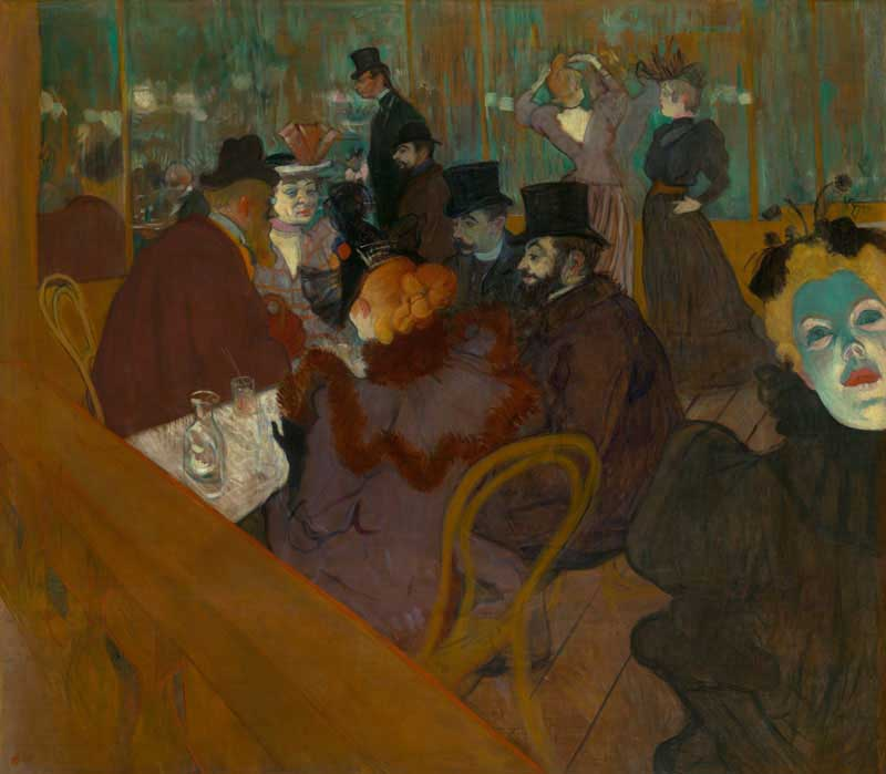 At the Moulin Rouge - Toulouse-Lautrec