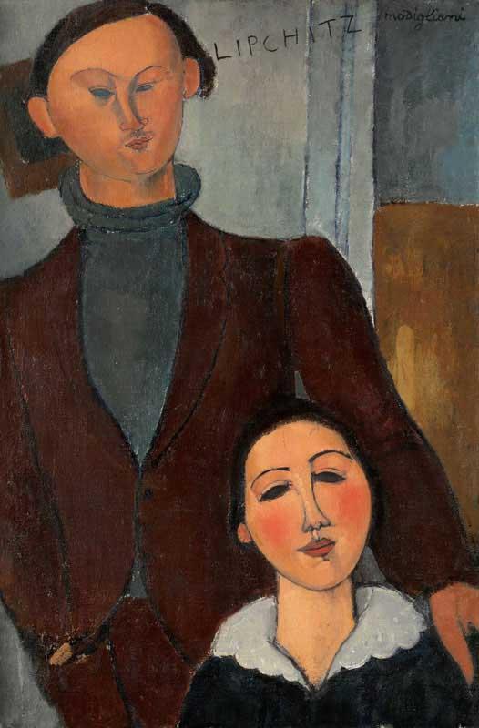 Jacques and Berthe Lipchitz - Amedeo Modigliani